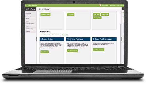 CCH IFirm Client Portal